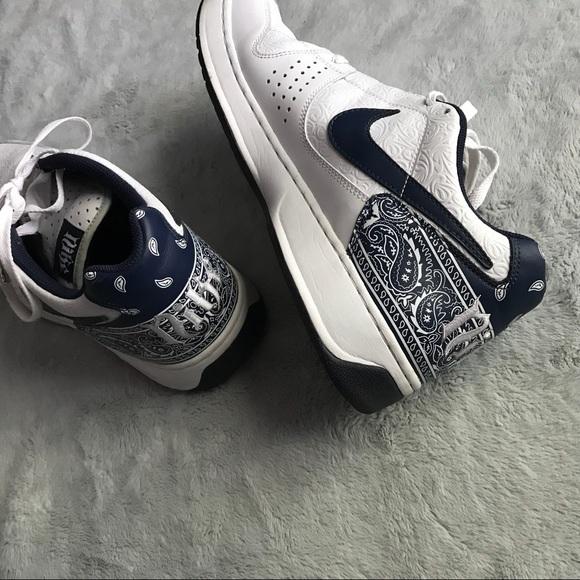 Vintage Nike Air Spokes Blue Bandana